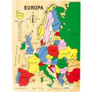 Puzzle Európa