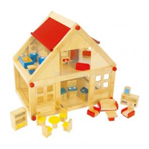 Domček pre bábiky celodrevený