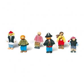 Textilné bábiky – piráti
