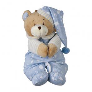 Uspávanka medvedík modrý