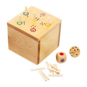 Kocka drevená – hra