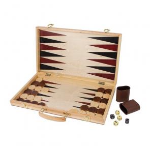Kufrík šachy a Backgammon