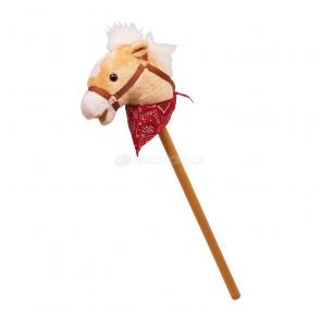 Hopsadlo kůň na tyči s šátkem (zvukový)