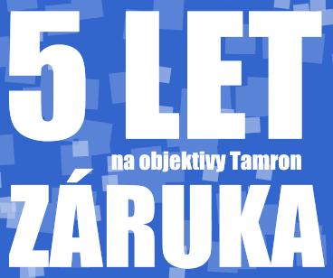 5-ročná záruka Tamron