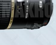 Makroobjektívy Tamron